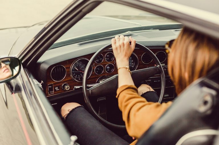 Driving Classic and Vintage Car