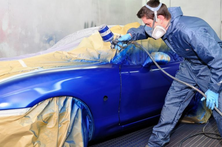 car painting session