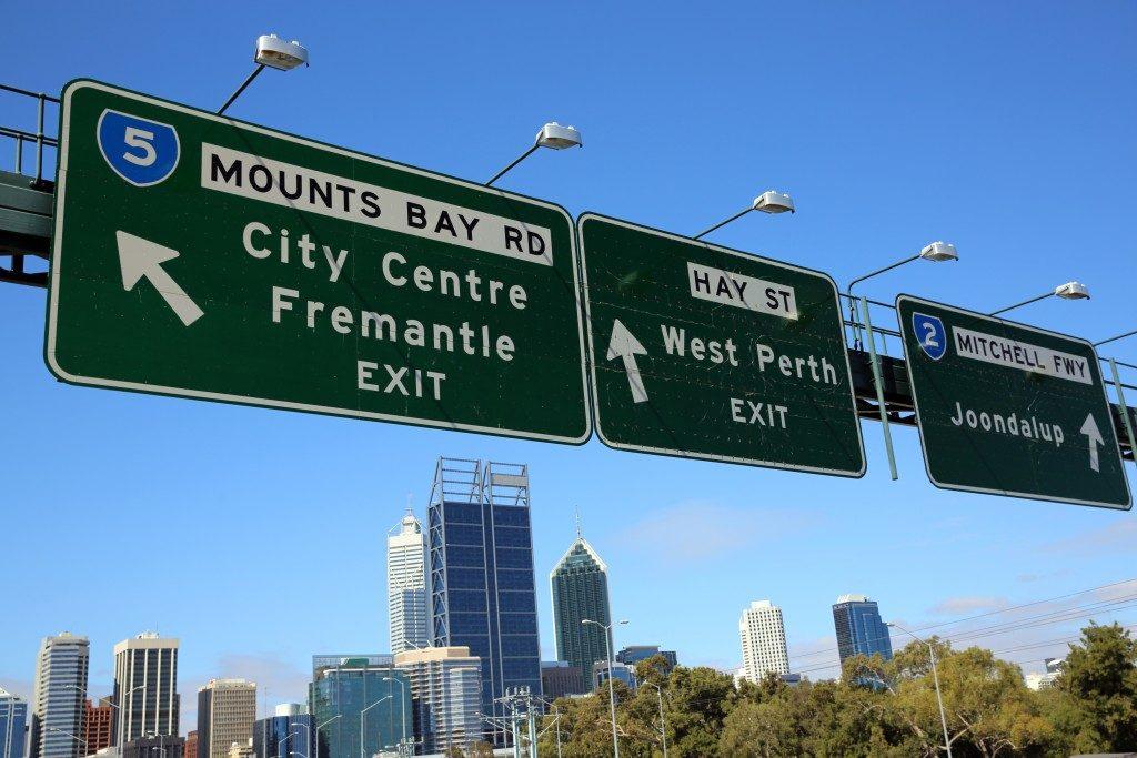 Signages in Western Australia