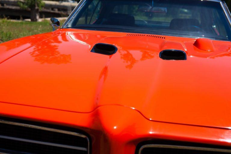 GTO Car Hood