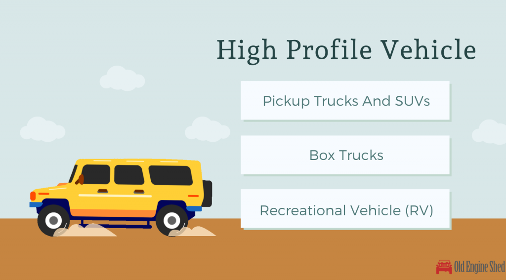 high profile vehicles